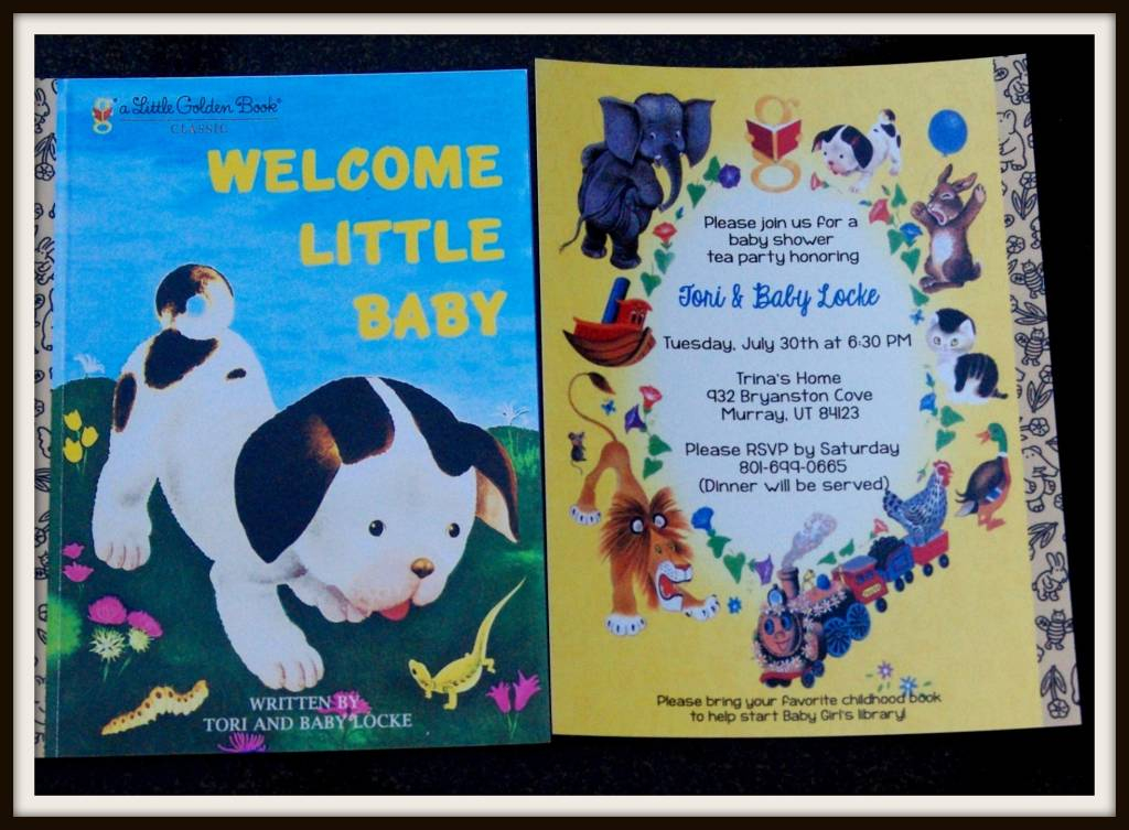 AN EVENING OF STORY TELLING (AKA) STORY BOOK BABY SHOWER