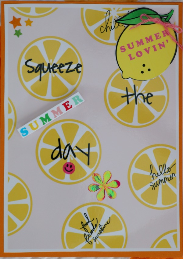 ... (of Course) I Used Three Different Tables But They All Had Citrus  Plates, Fun Centerpieces Which Carried On The Theme. I Simply Created A  Cites Saying, ...
