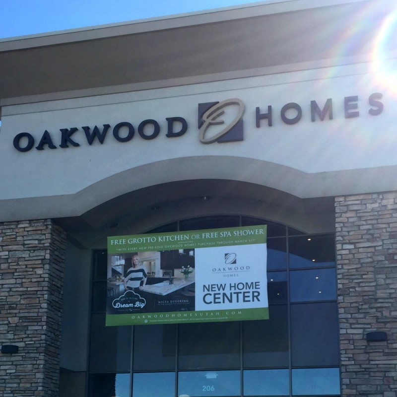 BUILDING A NEW HOME-AN EVENT WITH OAKWOOD HOMES